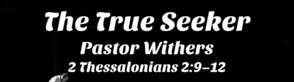 The True Seeker